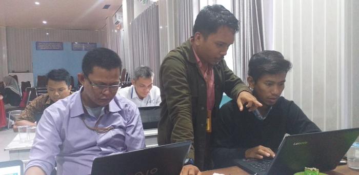 Laksanakan Peninjauan Resntra, Renop dan Penguatan Pengelolaan Website serta e-laerning 10 Prodi di Lingkungan FKIP UNIMUDA Sorong